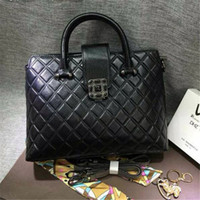 discount designer handbags - Vintage Ladies Totes Diamond Lattice Discount Designer Handbags Cowhide Leather Elegant Women Handbags for BL7103 online