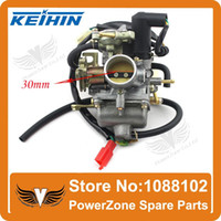 Wholesale KEIHIN CVK mm Carburetor Fit GY6 cc CH CN CF250 cc Motorcycle Water cooled ATV Go Kart Moped Scooter order lt no