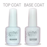 nail glue - Soak off color led uv gel nail polish Gelish gel glue nail art gel lacquer varnish for nail set primer foundation base coat top coat