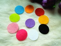 Wholesale 1000pcs free blankets circle mm straight through circle applique craft AB001
