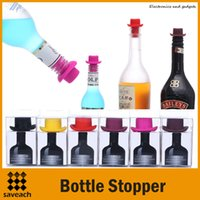 beer bar equipment - Bar Tools Equipment Wine Stoppers Silicone Preservation Closures Creative Beer Wine Lid Beverage Closures Wine Bottle Stoppers