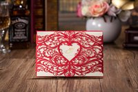 invitation - 2015 new arrival invitations cards CW5017 laser cutting Wedding Invitations