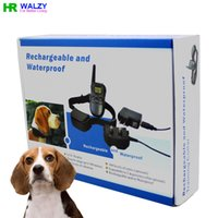 Wholesale Dog Electronic Trainer Collar with Level Vibration Shock Rechargeable Training Collar LCD display DR Shock Collar