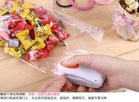 Wholesale 100 Mini portable household sealer plastic bag sealing machine snacks travel hand pressure sealing machine