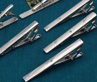 Wholesale Necktie Silver Tone Metal Clamp Jewelry Decor Business Tie Clip Business man tie clip fashion mens tie clip DDA3072