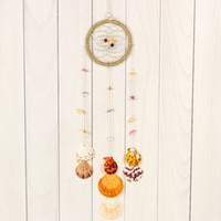 beach wind chimes - Cool Summer Beach Shell Pendant Dreamcatcher Rustic Furniture Ornaments Shell Wind Chimes MCP043