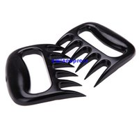 Wholesale New set Grizzly Bear Paws Claws Meat Handler Fork Tongs Pork Shredder Puller BBQ Barbecue Kitchen Tools