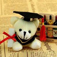 bear services - Good Service Plush Baby Toy Promote Gift Stuffed Doll Doctor Teddy Bear Graduate Teddy