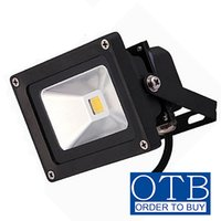 Wholesale 10W LED Flood lights Black case V V V V V bowfishing LEDs Boat lighting Watt lights LM Floodlights DHL shipping free