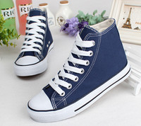 Cheap canvas espadrilles Factory promotional price !2014 Drop Shipping New Unisex Low-Top & High-Top Adult Women's Men's Canvas Shoes 13
