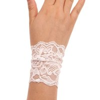 Wholesale Newly Design Multi Color Women Lace Cuff Bracelet Wide Stretch Lace Accessory Bohemian Long Cuffs Wristband
