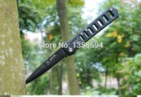 Cheap free shipping stainless steel 2014 New lure fishing folding knife Camping survival 20.5CM