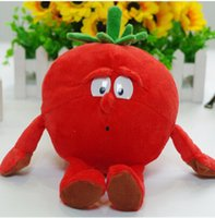 Wholesale PC Original TCC Goodness Gang Plush tomato soft toy with PP Cotton and Nanoparticle vegetable fruit