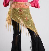 belly dance skirt pattern - Arab Dance Flower Pattern Belly Dance Hip Scarf Belt Skirt Waist Chain Wrap BC009