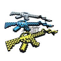 baby gifts foam - Baby gift my world EVA foam diamonds gun Machine Gun firearm handarm weapon Pickaxe sword toy games For boy children kids E024