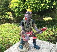band meteor - 15cm British psychobilly punk rock band The meteors OTMAPP zombie figures vinyl doll great for gift