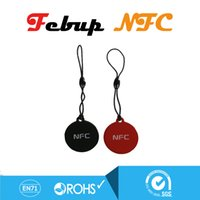 Wholesale Waterproof Ntag203 NFC Smart Tags for Samsung Note3 S4 Nokia Lumia Nexus Oppo HTC