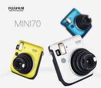 Wholesale 3 Colours Instant Film Camera FujiFilm Fuji Cheki Instax Mini Instant Photos Films Polaroid Camera
