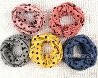 neck cotton collar - 2015 New Classic children s cotton scarf kids boy girl Ring Scarf Shawl Unisex Winter knitting stars Collar Neck Warmer