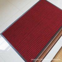 Wholesale Carpet mats multicolor double stripe composite pad antiskid mat bathroom bedroom pad ten yuan shop selling