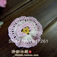 Wholesale French design handmade color pic cm D small flower diy multicolour cloth accessories patches