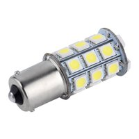 bay auto - White T25 S25 BAY D White SMD LED Car Auto Tail Brake Stop Signal Parking Lights Bulb V