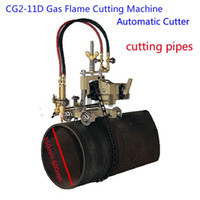 Wholesale Shanghai HUAWEI CG2 D Automatic Pipe Flame Gas Cutter Flame Cutting Machine for cutting oil pipes chemical pipe project