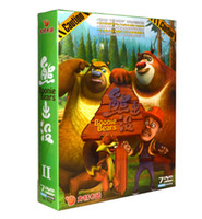 bear series - 2016 Hot selling DVD movie for children DVD Movies TV series Boonie Bears Cartoon item Factory Price Mixed quantities from shopangel