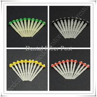 Cheap New Dental Endo Screw 4 Color 4 different Size Optional Fiber Posts Tips Drill Thread Glass Protaper Files stock with Free Shipping