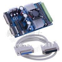 Cheap Wholesale-3 axis TB6560 3.5A CNC engraving machine stepper motor driver board 16 segments stepper motor controller
