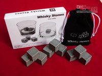 Wholesale whisky rocks whiskey stones beer stne whisky ice stone bar accessaries WY031