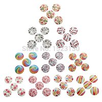 Wholesale High Quality Price Graceful mm Hole Colorful Pattern Wood Wooden Button For Scrapbooking Sewing