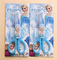 Wholesale Fashion Elsa Princess Scissor Cartoon Student Scissors Sataionery A3379 On Sale