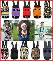Wholesale Pet Dog Front Carrier Bag Travel Backpacks UPS size colors up pick Pet dogs cats backpack carriers