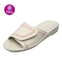 ladies slippers - Pansy Comfort Shoes Bonding Cingulum Design Flexiable Indoor Slippers For Ladies