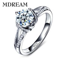 Wholesale white gold filled and sterling silver ring and AAA Zircon Ring wedding for women gorgeous rings jewelry