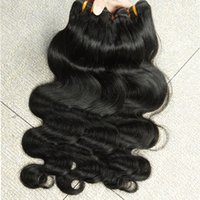 Straight remy hair - Unprocessed Brazilian Body Wave Hair Virgin Human Hair Extentions A remy hair weaving DHL XBLHair