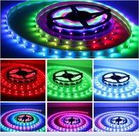 ribbon strip - LED Strips Light SMD RGB LED LED M LED light ribbon Waterproof IP65 with free keys IR Remote V5A power charger
