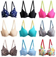 Wholesale Woman bra One piece non trace sexy bra wedding Deep V Bra dress underwear more styles