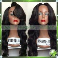 silk top full lace wigs - Brazilian virgin Hair Glueless full lace human hair wigs lace front wigs with bangs silk top human hair wigs for african americans