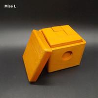 Fun Gadget Tetris Blocs en bois à l'intérieur Jeux Puzzle Jeux pour Adult Magic Box