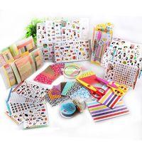Wholesale 1509 Mini Handmade Diy Photo Album Wedding Lace Tape Corner Sticker Scissors Pen Scrapbooking Accessories Paper Baby Album De Fotos
