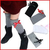 6M-3t boot socks - Hot Sale Girls Bow Socks Kids boots socks children socks girls princess socks bowknot cotton socks color choose free pairs melee