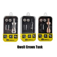 authentic box - Authentic Uwell Crown Sub Ohm Tank ml Temperature Control Vaproizers Top Filling TC Atomizer for thread Box Mod