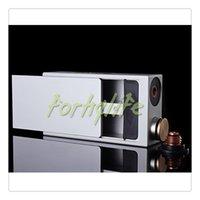 Precio de Mod baterías baratas-Dimitri mod Mod Mod Ecig Box Mod con contacto positivo de cobre y casas aislantes doble 18650 baterías