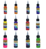 Wholesale Top Quality Tattoo Set Of Colors Tattoo Ink OZ Pigment ml For Tattoo Kits Gun Grips Beauty Tattoo Supply