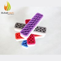 Silicone america cosmetics - Newest hot selling unique quirky zen cosmetics eye brush makeup holder America style beaty and makeup toolkit