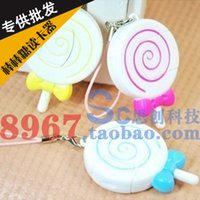 Wholesale Lollipop card reader mini micro sd tf card reader computer peripheral accessories