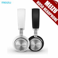 Wholesale Brand Original MEIZU HD50 Headphone HiFi Earphone High fidelity Sound Bass mm Headset With Mic For MX4 Pro5 Retail Box