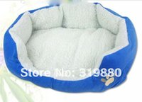 Wholesale Special ultra warm lamb fur pet dog cat litter pet supplies small nest dog house